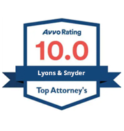 Lyons & Snyder - Avvo Rating